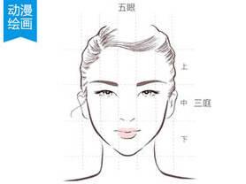 动漫人物脸型画法及脸部结构比例