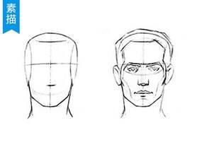 3分钟学会画正脸手绘教程