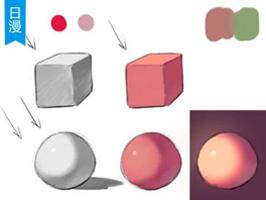 如何将素描关系转为色彩关系