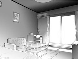 多时间段室内光影的画法