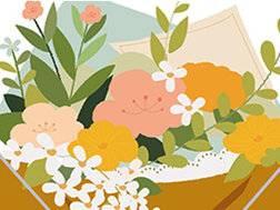 插画设计理论讲解和植物绘画示范
