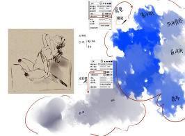 SAI水彩笔刷
