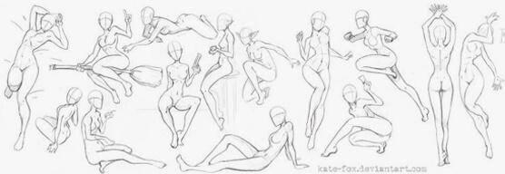 怎么画动漫人体比例