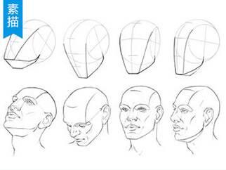 【视频教程】脸部各角度手绘技法
