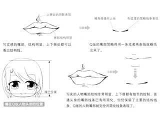 【图文教程】嘴巴的手绘画法