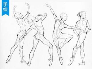 【视频教程】人体姿势的画法