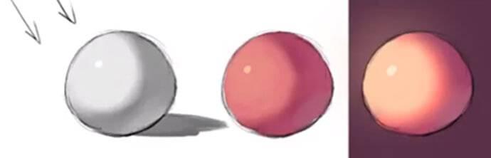 【上色必学】如何将物体素描关系转为色彩关系