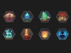 【游戏UI】图标设计与绘制视频